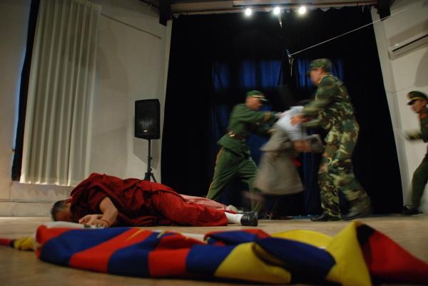 黑眼睛跨劇團《圖博文化節》活動照